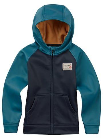 4707f3acb Shop the KidsBurton Boys  Mini Bonded Full-Zip Hoodie along with ...