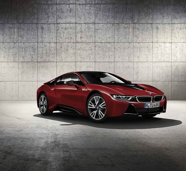 We Re Drooling Over The Limited Edition Bmwi8 In Protonic Red What