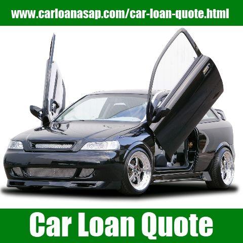 Auto Quotes Car Loan Quote  Auto Loan  Pinterest  Car Loans