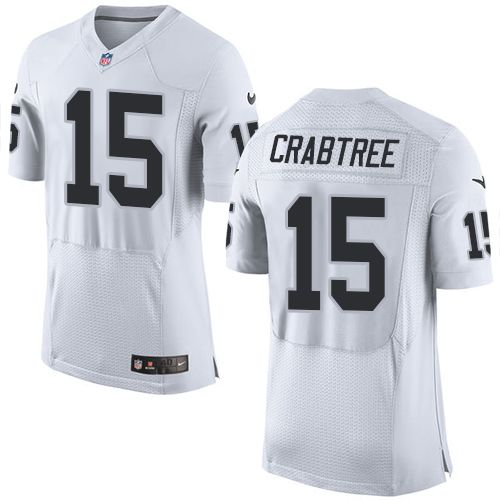 michael crabtree raiders jersey