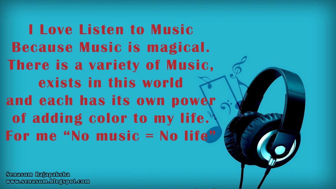 Headphones And Music Quotes Headphones Music Quotes Quotesgram