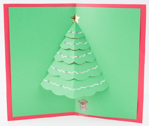2014 Let It Glow Holiday Cards This Tutorial Will Guide You Through How To Create Simple Christmas Card Template Christmas Cards Kids Pop Up Christmas Cards