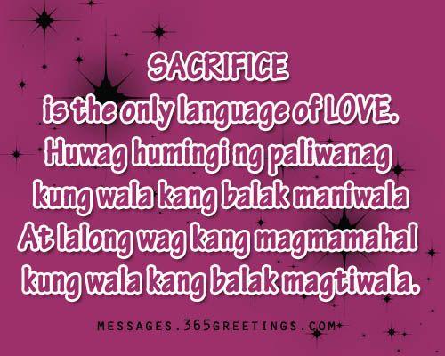 Tagalog Love Quotes | Tagalog, Qoutes and Tagalog quotes