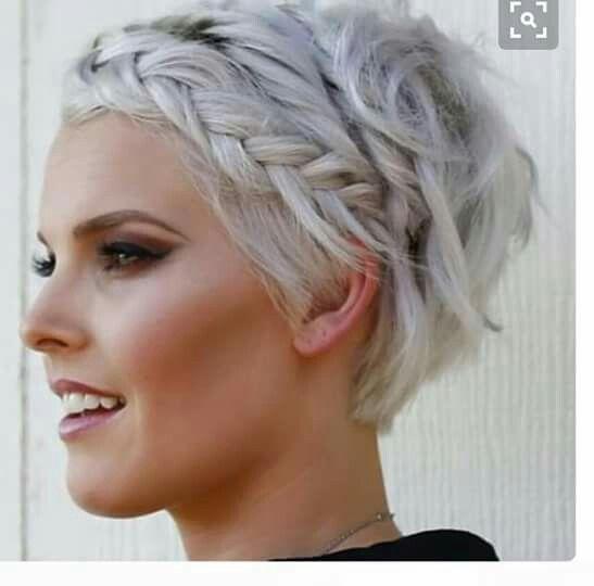 Como recoger el pelo corto