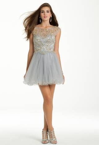 98072054fd9 Beaded Tulle Party Dress from Camille La Vie and Group USA
