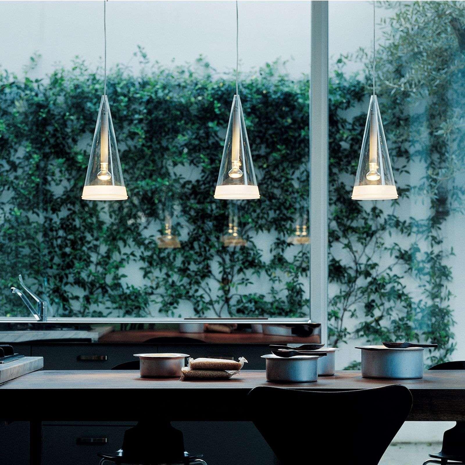 Flos Fucsia Hanglamp Van Glas Met 1 Lampje Hanglamp Moderne Verlichting Glas
