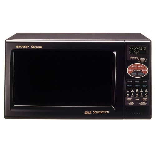 Sharp 0.9 cu. ft. Grill 2 Convection Microwave