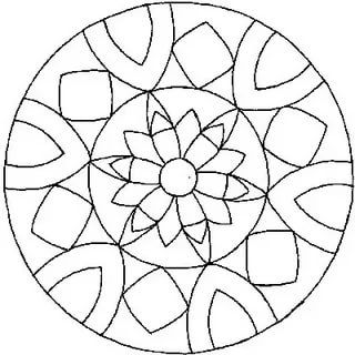 шаблон для точечной росписи тарелки: 15 тыс изображений ...