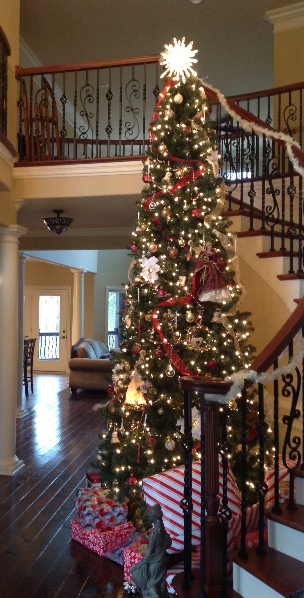 Pretty Good Job Year Tree. 12 Foot Tree. Design Decorate