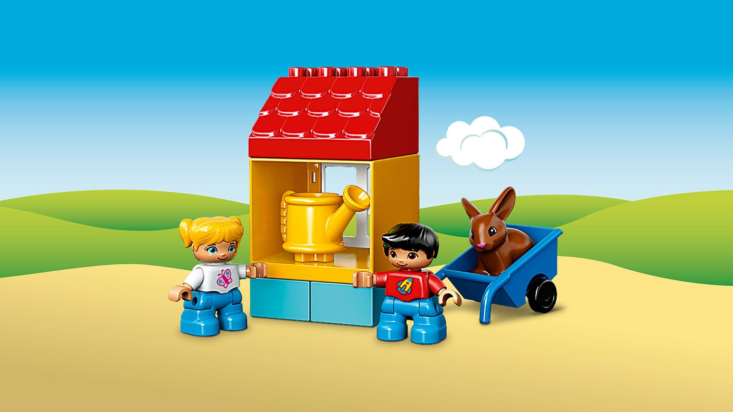 First Duplo Sets, First Garden, May 2016