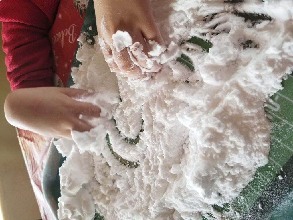 How To Make Fake Snow At Home Fake snow, Winter crafts