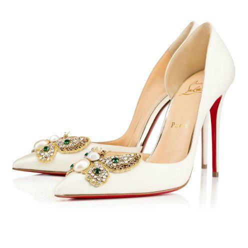 4cd8a55c2f9f Spike Me PVC Cap-Toe Red Sole Pump Pink by Christian Louboutin at Neiman  Marcus. Brandy Sauls