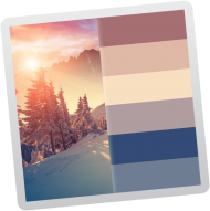 color palette from image 4 – iphone x wallpaper 4k winter PNG image with transparent background png – Free PNG Images
