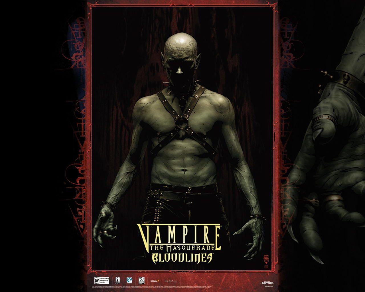 Vampire Nosferatu Vampire The Masquerade Bloodlines