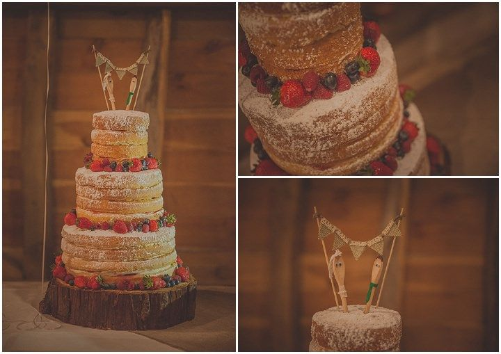 Rebecca and Harry's Vintage Inspired Barn Wedding with a Candy Anthony Dress. By Tom Halliday