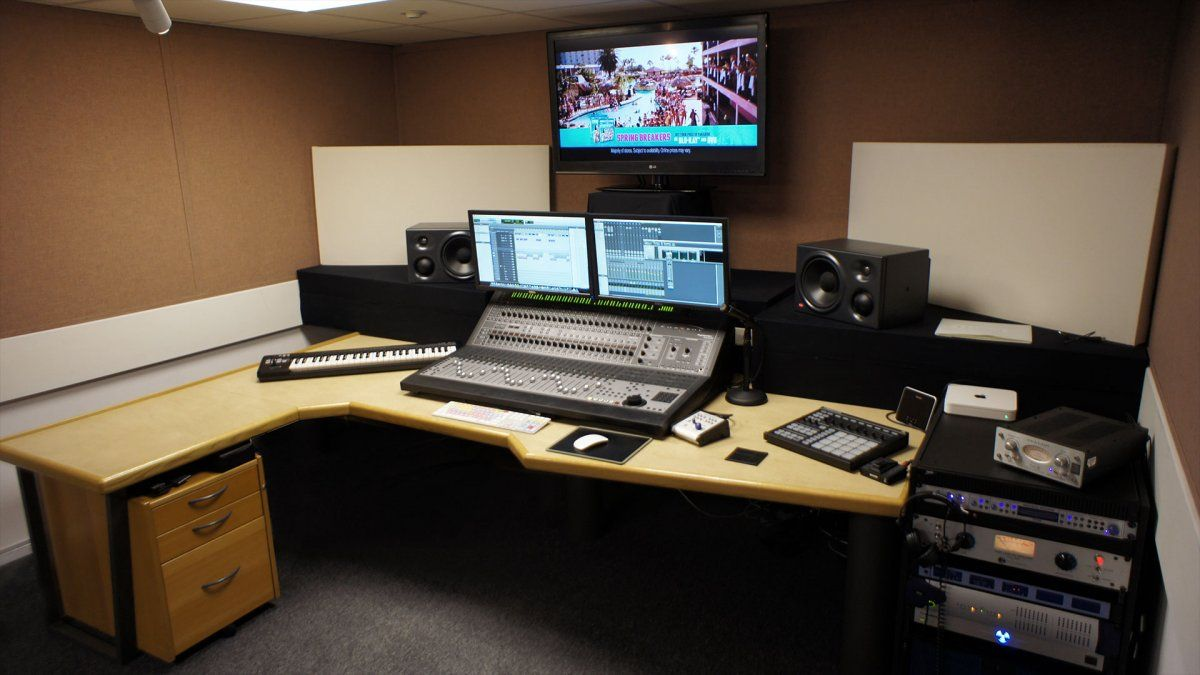 Wondrous Sophisticated Home Recording Studio Peter Rolls Sound Designer Largest Home Design Picture Inspirations Pitcheantrous