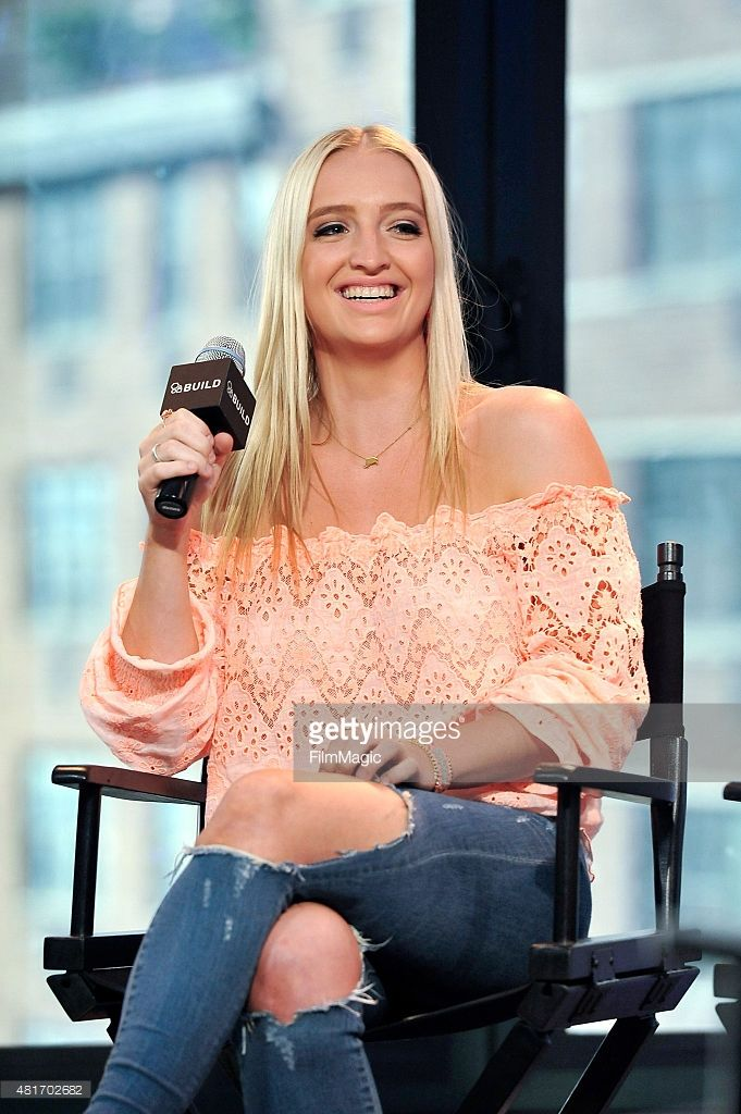 emma sheppard of the band sheppard attends aol build speaker series