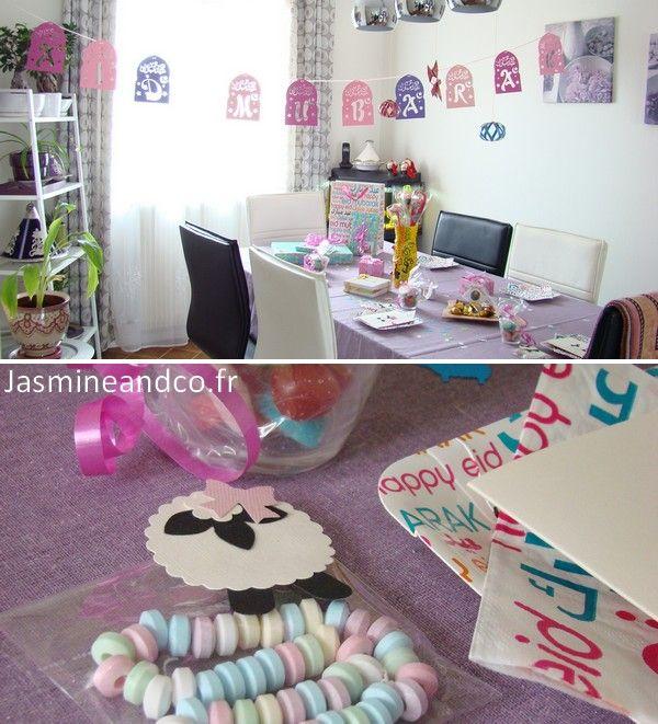 table de l'aid   عيدeid party   Pinterest   Eid crafts