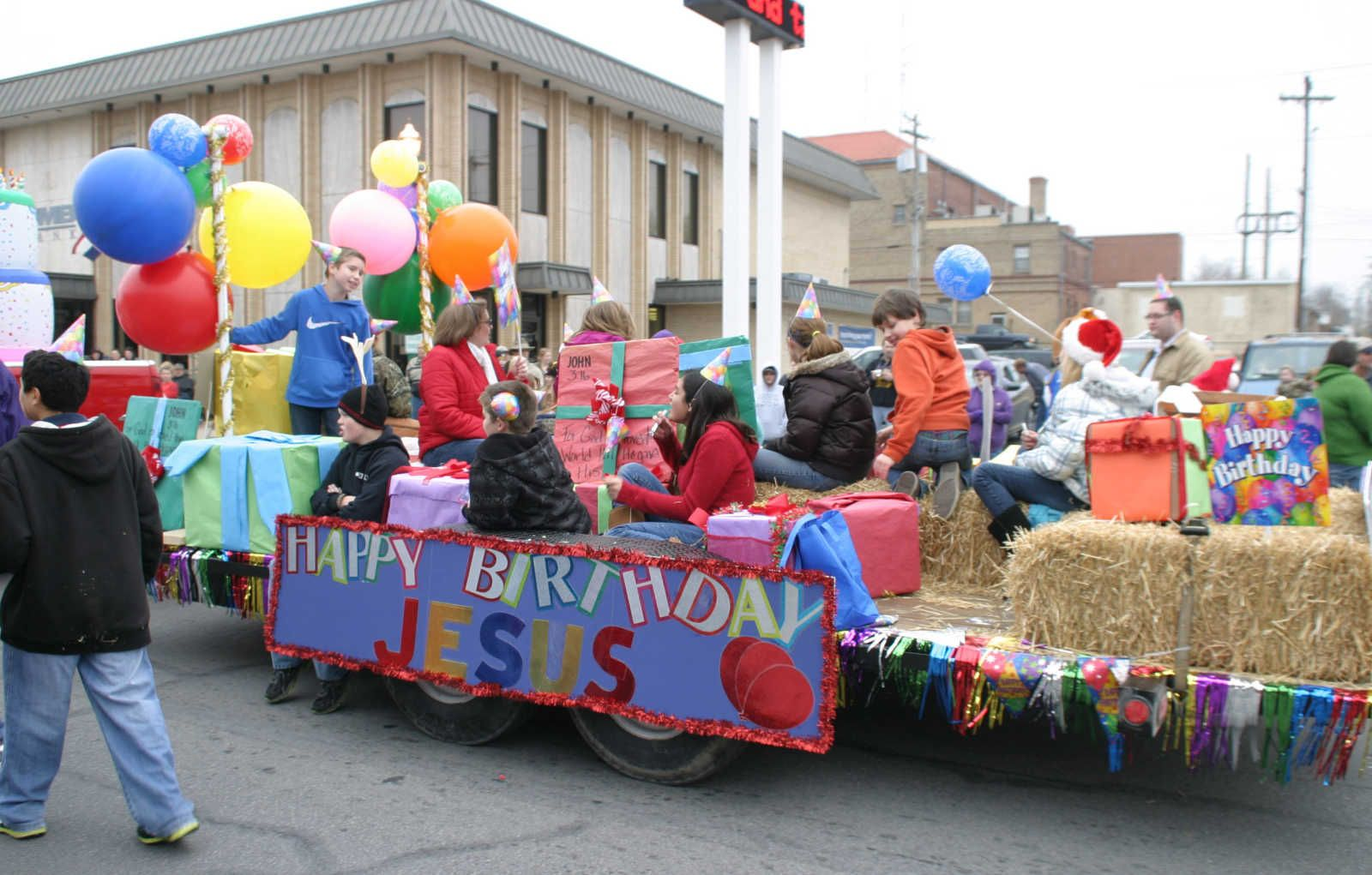 Image Result For Happy Birthday Jesus Float