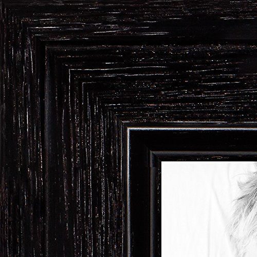Arttoframes 12x24 Inch Black Stain On Maple Wood Picture Frame Wom006680209yblk12x24 See This Great P Picture Frames Wood Picture Frames Custom Picture Frame