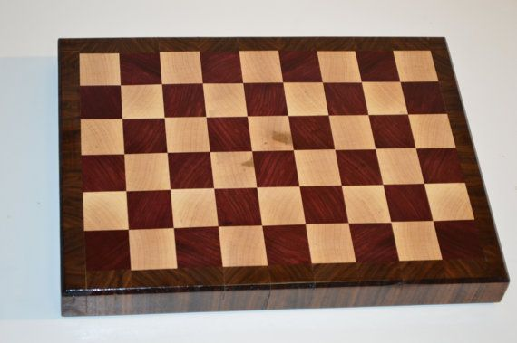 Checkerboard Butcher Block by TFTWood on Etsy