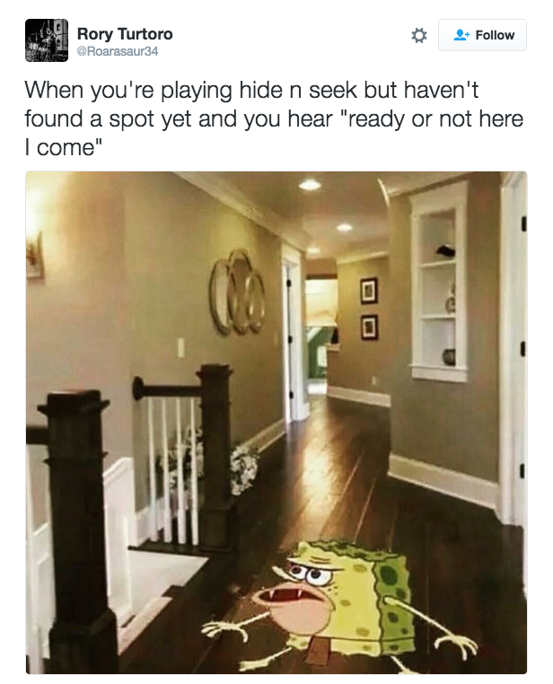 I Cried For You On The Kitchen Floor: 23 Caveman SpongeBob Tweets That'll Make You Laugh