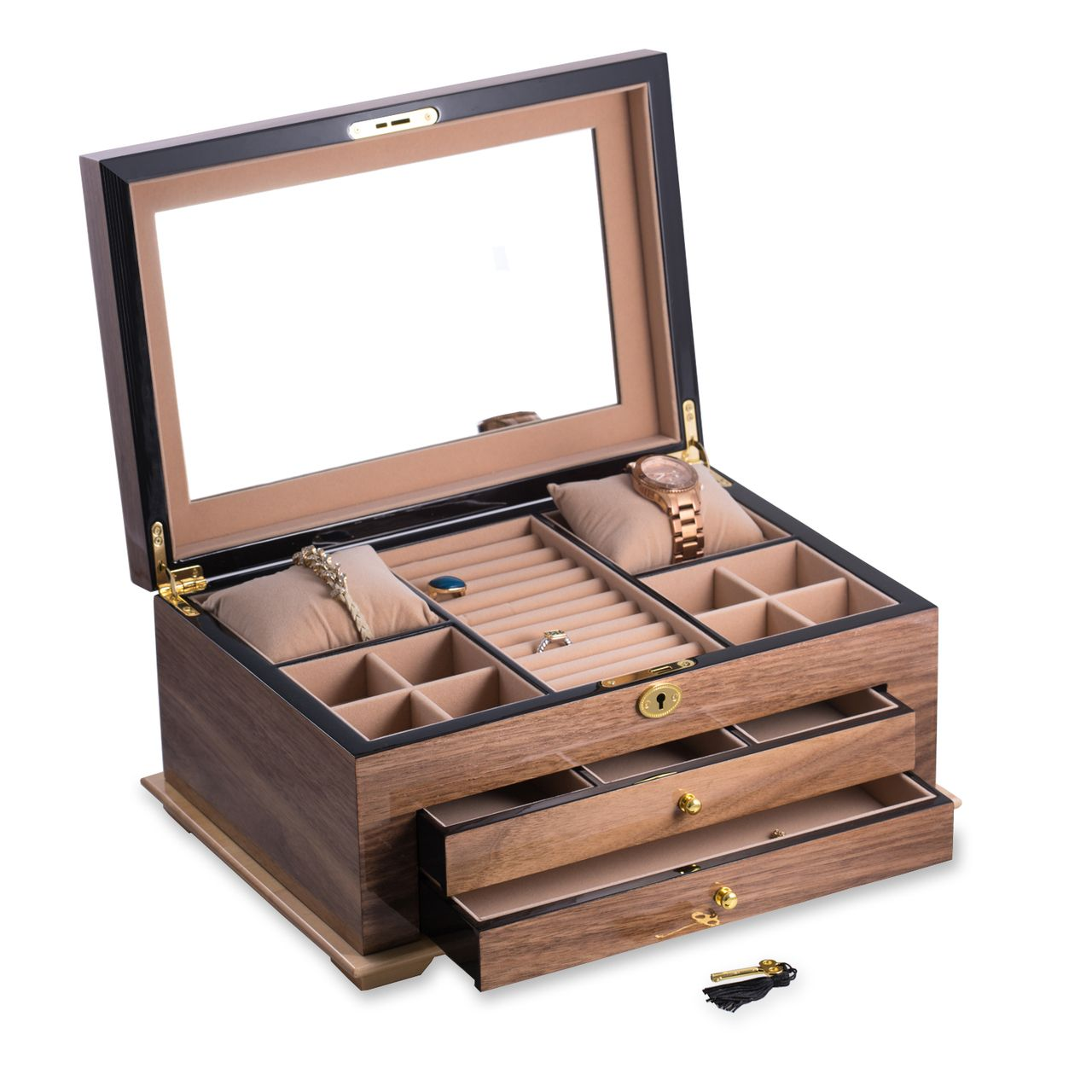 Bb670brw Watches Jewelry Box Home Decor Baskets