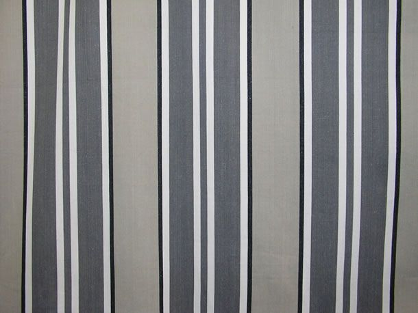 Grey Striped Fabrics Stripe Cotton Fabrics Striped Curtain Fabrics Upholstery Fabrics Kendo Grey Str Black And White Fabric Striped Fabrics Beach Fabric