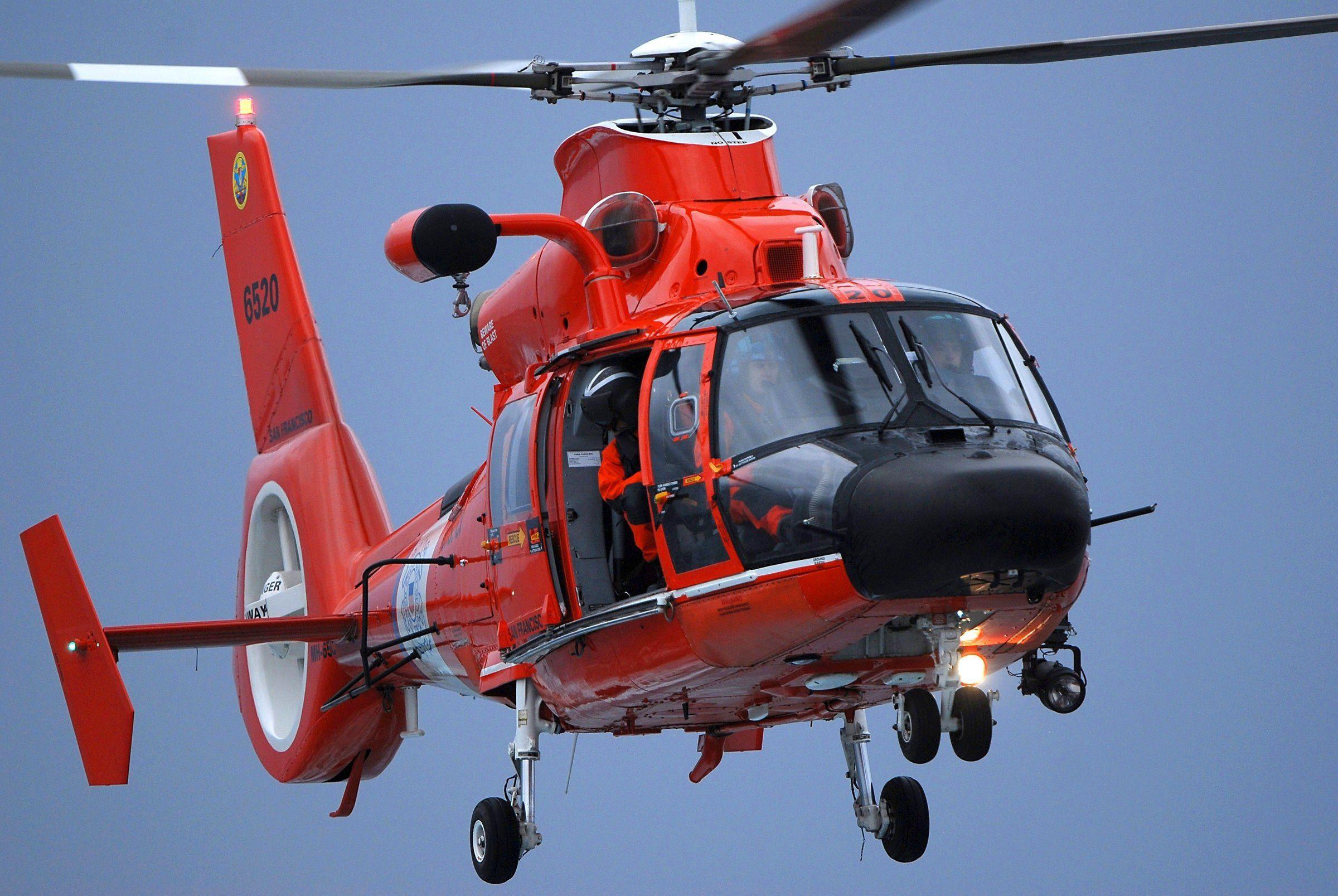 Aerospatiale Hh 65 Dolphin San Francisco United States Coast Guard