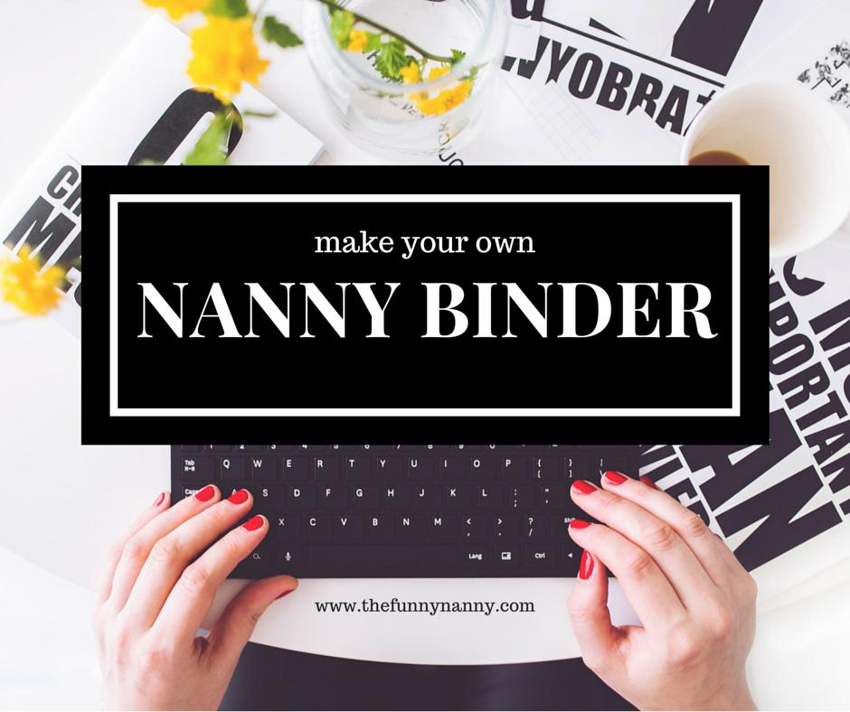 Ultimate Guide: Nanny Portfolio | NANNY! | Nanny binder ...