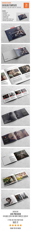 Fashion US Letter Catalog Template 0047