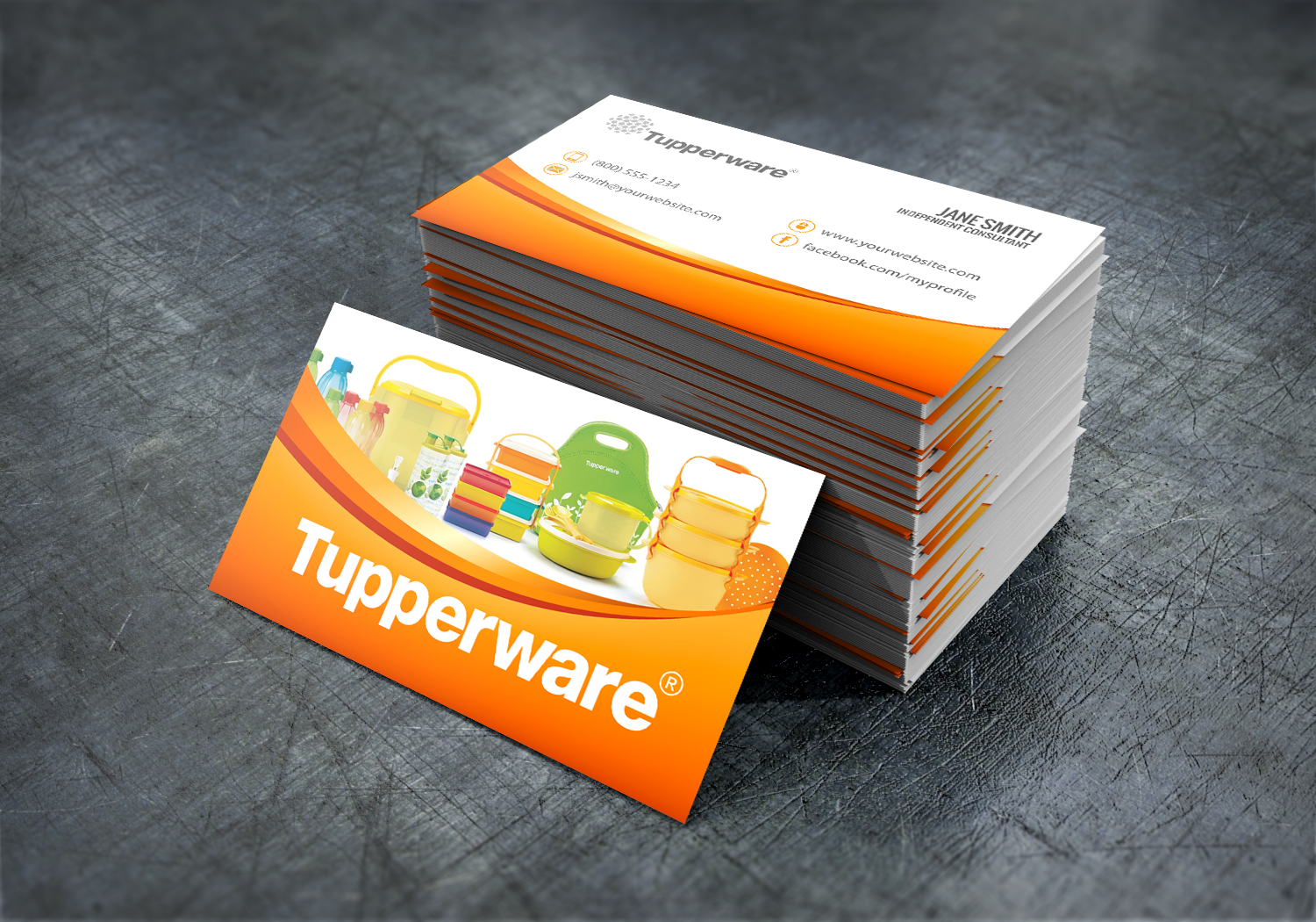 free business cards business card templates card printing tupperware business card design - Tupperware Business Cards