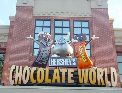 Hershey, PA: Hershey Chocolate Factory Entrance