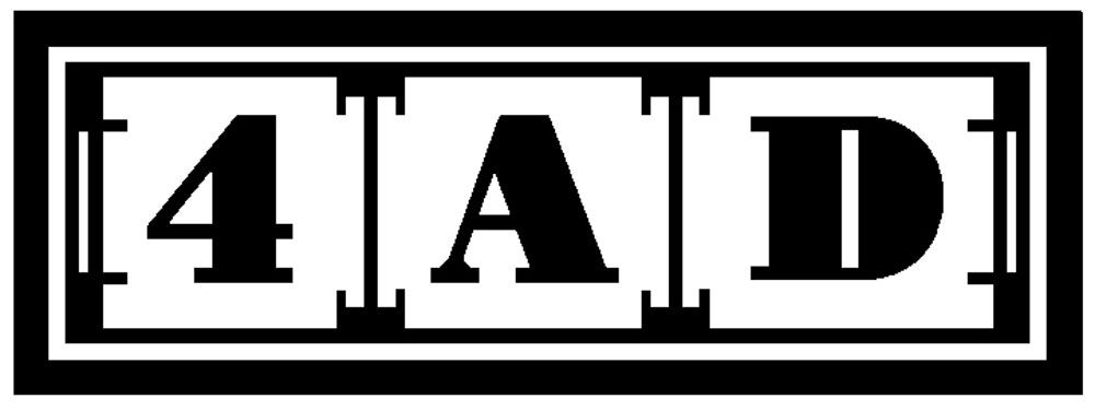The Official Website For Independent Record Label 4ad Record Label Logo Record Label Logo