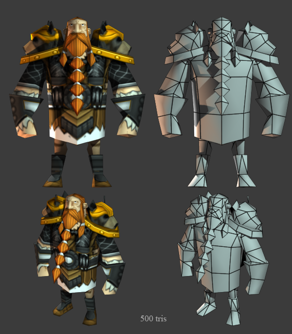 Norse unit in Age of Empires Online, by 3d Artist Ryan Sharr, Gas