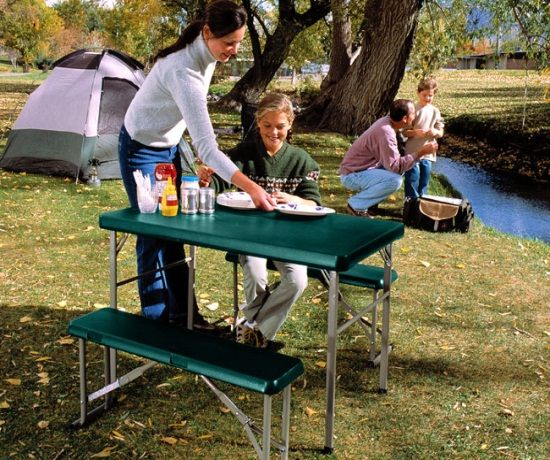 Remarkable Lifetime Camp Tables 80188 Hunter Green Sport Table And Pabps2019 Chair Design Images Pabps2019Com