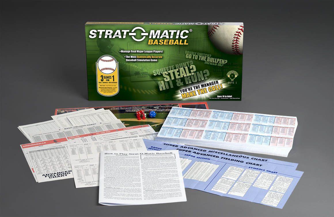 """Картинки по запросу """"Strat-o-matic Baseball 1980"""""""