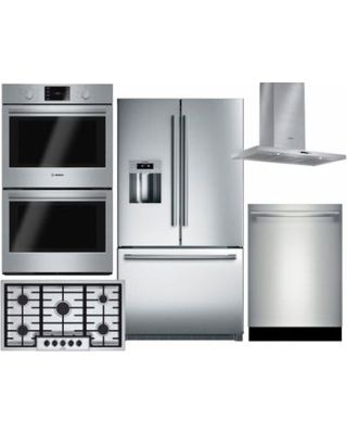 bosch kitchen suite french country island these are the freshest beauty products of 2018 h o m i e incredible deal on 5 piece stainless steel package with b26ft70sns 36 freestanding door refrigerator hbl5651uc 30 double electric
