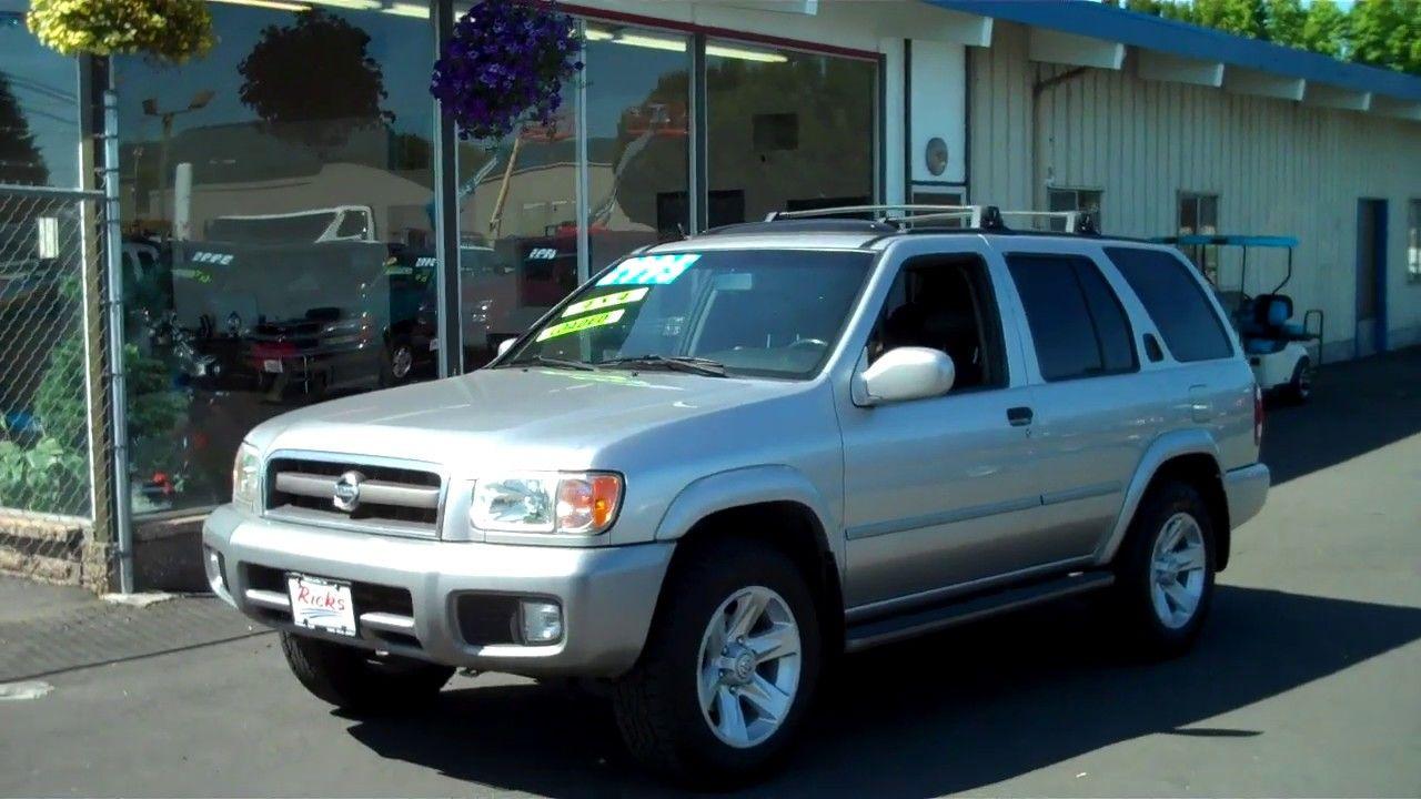 2003 NISSAN PATHFINDER LE 4X4 2995 Nissan pathfinder