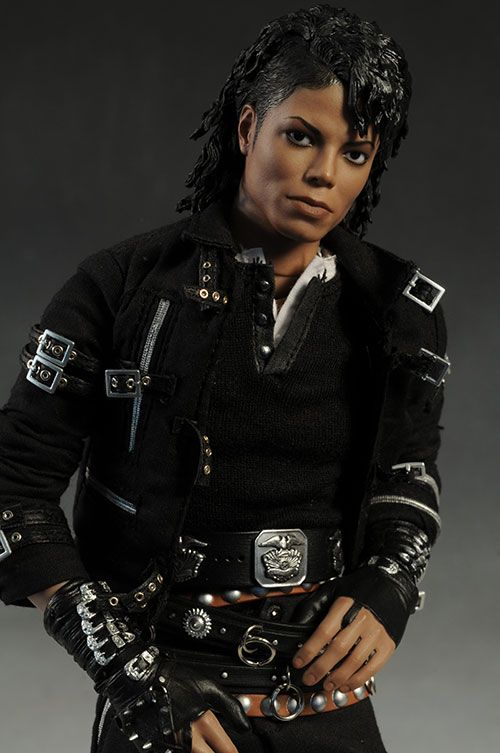 hot toys michael jackson bad sixth scale action figure