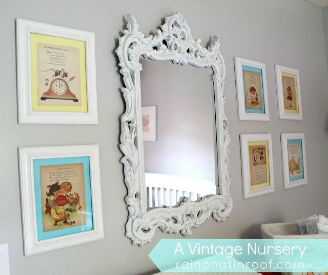 A Vintage Inspired Nursery Makeover Baby Playroom
