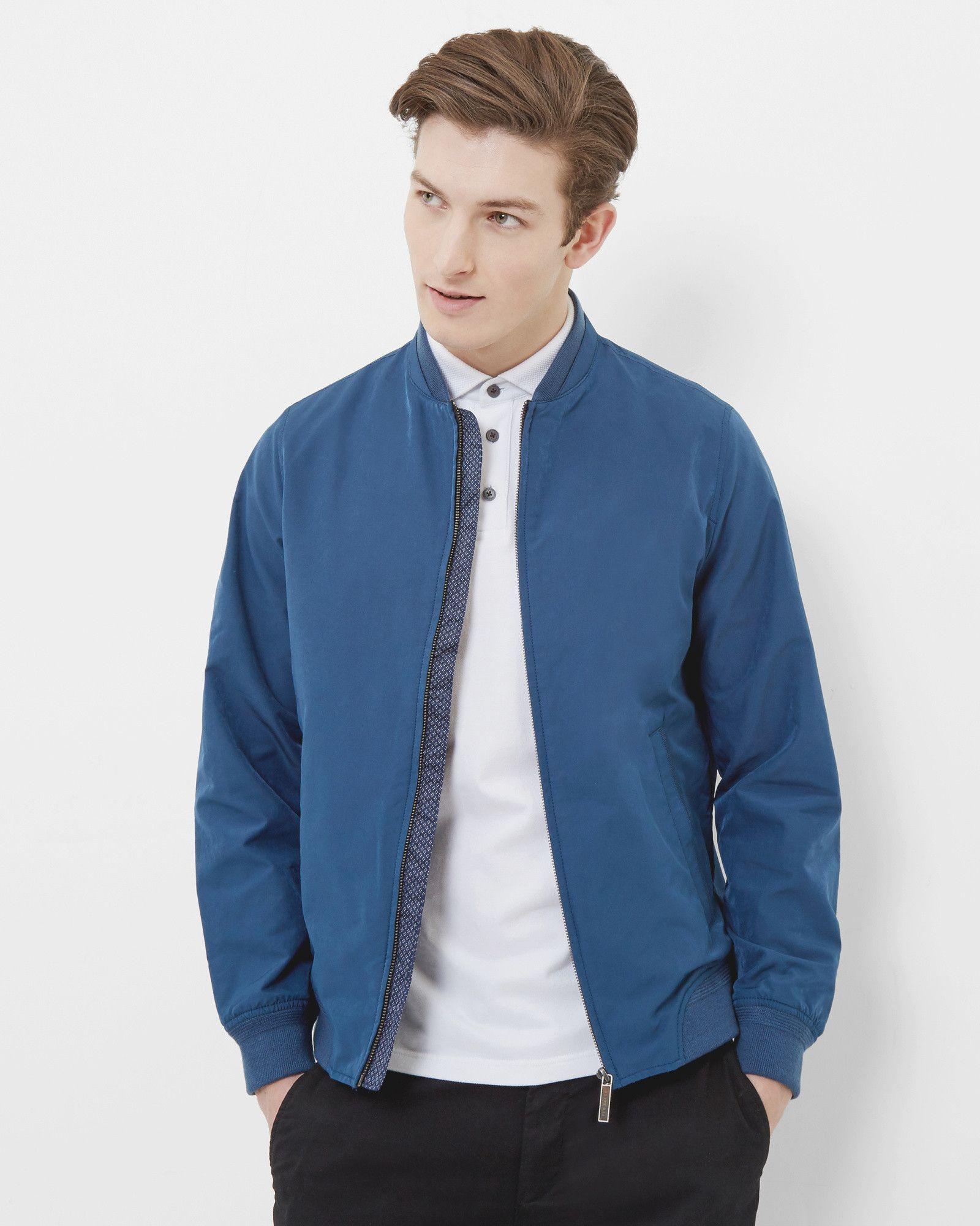 Ted Baker Bomber Jacket Blue Bomber Jacket Jackets Clothes [ 2000 x 1600 Pixel ]