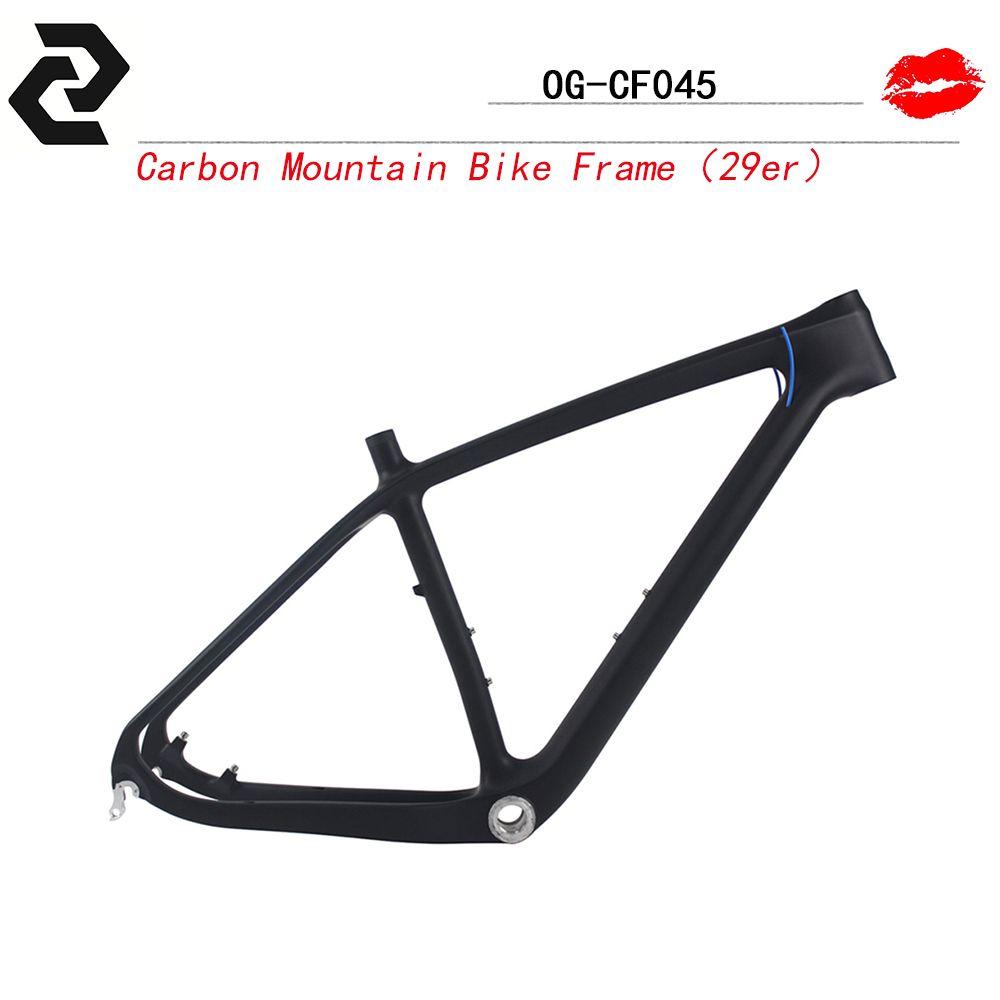 """OG-EVKIN Carbon 29er MTB Frame 29 UD Weave Carbon Mountain Bike Frame 15""""/17""""/19"""" SGS Tested"""