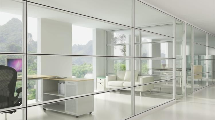 Cubicles Floor To Ceiling De Moutable Walls Modular Glass Office