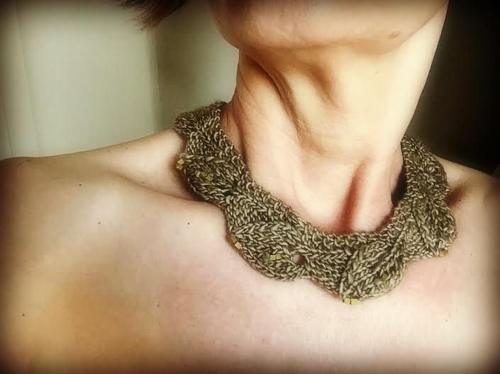 7 Knitted Necklace Patterns For Quick Technique Practice Other