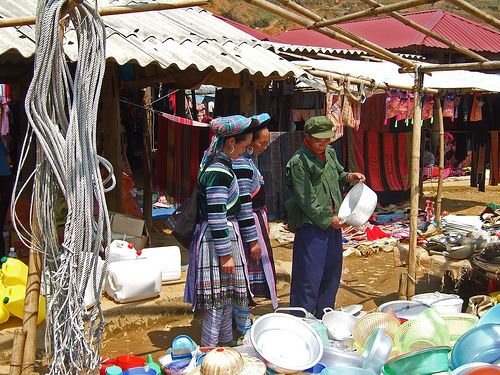 Sapa market tour