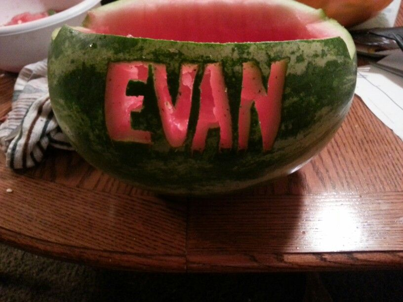 Name of Graduation watermelon