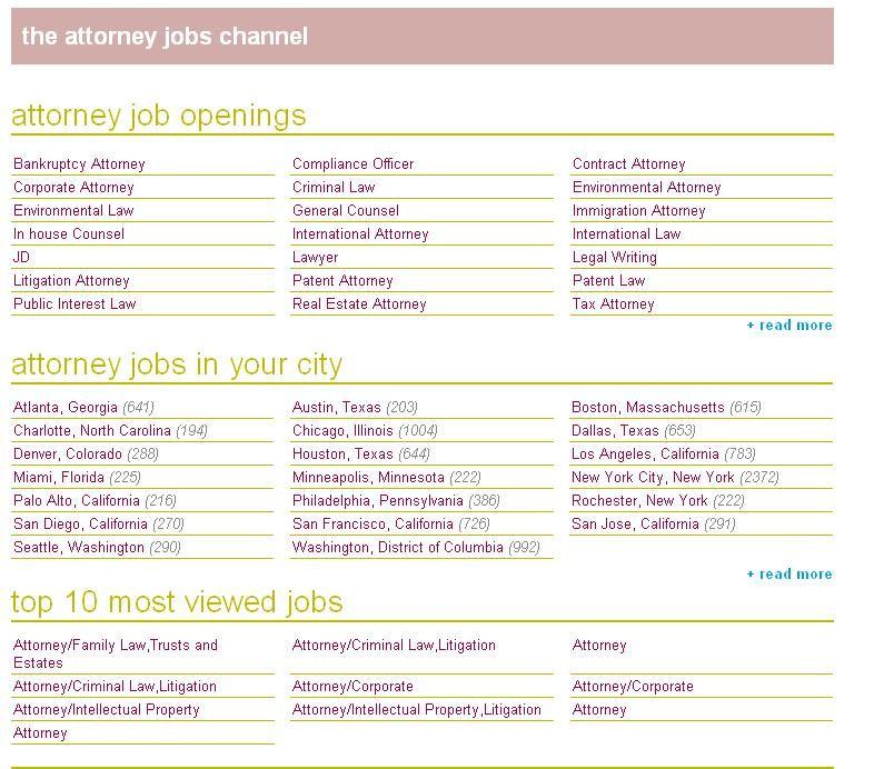 All Attorney Jobs Job opening, Job, Find a job