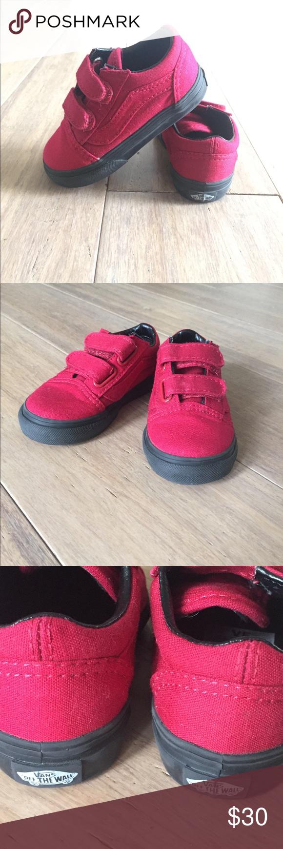 Rare Vans Old Skool V Toddler Shoes Size 6 Vans Old Skool V Black Sole  Toddler 49cf67857