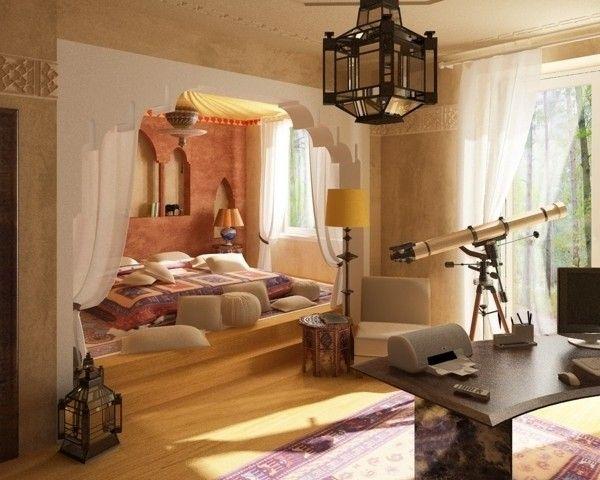 Exotische Einrichung Marokko Vintage Schlafzimmer Ideen Marokkanisches Schlafzimmer Piraten Schlafzimmer